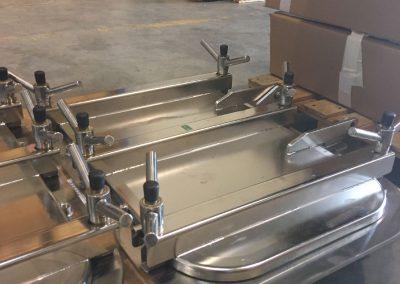 Modification d'une porte standard sur un cadre plat